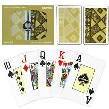 COPAG 100% Plastic Playing Cards Ethnic Bridge Jumbo Brand New