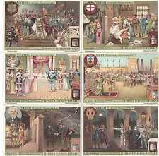 """Liebig Bilder Serie 889 """"Verdi in seinem Hauptwerken"""" Deutsch"""