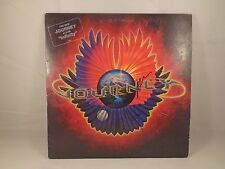 """NEAL SCHON & ROSS VALORY (JOURNEY) - DUAL SIGNED """"INFINITY"""" ALBUM COVER w/ COA"""