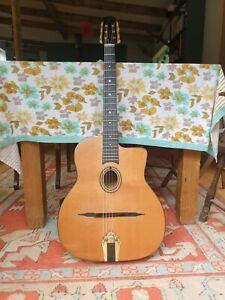 Altamira Gypsy Jazz Guitar and krivo pickup