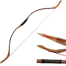 30-50lb Traditional Archery Recurve Bow Longbow Handmade Horsebow Target Hunting