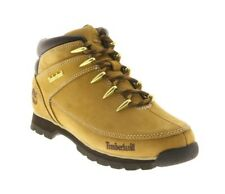 TIMBERLAND Mens Boots Euro Sprint Beige Leather A122L Wheat Sizes UK 7 - 10.5