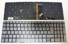 Lenovo IdeaPad 320-15ABR 320-15AST 320-15IAP UK Light Grey Keyboard Backlit