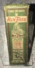 Vintage Pflueger No.2120 Run Free Gear Grease Original Box