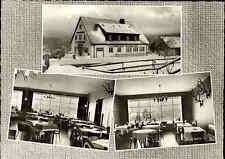 TORFHAUS Oberharz Harz ~1960 Hotel Inh. Heinz Schröter s/w Mehrbild-AK ungelauf.