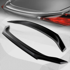 For 2016-2017 Honda Civic 4DR OE Style Primer Black ABS Rear Trunk Spoiler Wing