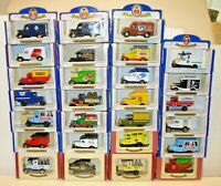 OXFORD DIECAST ORIGINAL MODELS -  TRUCKS & VANS  - LOT F8 COMBINED POSTAGE