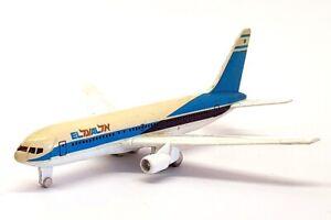 Schabak 1/600 Scale Diecast 907/22 - Boeing 767 Aircraft - EL AL