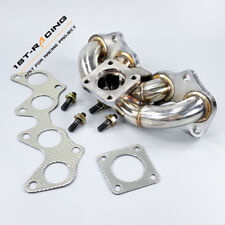 SS304 Turbo Manifold Exhaust Header for Toyota Starlet EP82 EP91 / TERCEL 4EFTE