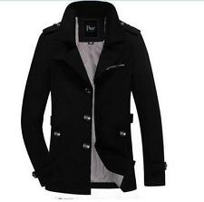 Men Spring and summer new men's solid color lapel coat jacket