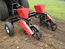 "ATV UTV SEED PLANTER - 15 Gal Cap - 3 PT Cat 1 - Spreading Width of 14"" to 36"""
