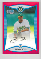 TYSON ROSS 2008 Bowman Chrome Red Prospect Rookie Refractor # 1/5 Padres RARE RC