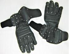 RARE men's women's HARLEY DAVIDSON Leather Gloves STUDS STUDDED S SOFT ARMOR