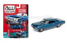 AUTO WORLD 1:64 DIE-CAST PREMIUM 1967 CHEVROLET CHEVELLE SS VERSION A AW64132