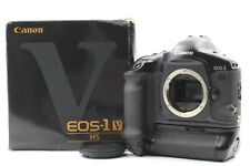 [MINT] Canon EOS-1V EOS1V HS SLR Body w/ PB-E2 film counters 312  from JAPAN 031