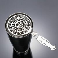 Skull Design Mechanical Stainless Steel Cocktail Deluxe Strainer Watch Bar Tools