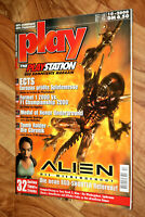 2000 Playstation Magazin Silent Hill 2 Spyro III 3 Tomb Raider Chronicles Alien