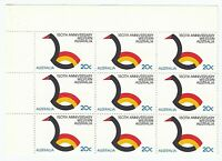 1979 '150TH ANNIVERSARY OF WESTERN AUSTRALIA' MNH CORNER BLOCK OF 9 x 20c STAMPS