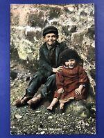 """Irish Life"" Tuck Publ #4412. Antique Postcard. VG 1906. For Collectors. Value"