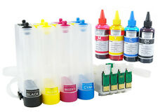 CISS Kit with Sublimation Ink Set for Epson WF-2750, WF-2760