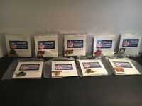 Lot Of 9 Teams Sears And Roebuck NFL Officially Licensed Pins 1985 RARE!!!