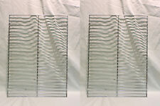 """Lot Of 2 New Universal Heavy Duty Brinkmann Bbq Cooking Grill Grate 27"""" X 19.5"""