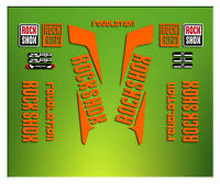 PEGATINAS HORQUILLA ROCK SHOX REVELATION ELX43 STICKERS AUFKLEBERS AUTOCOLLANTS