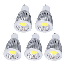 5pcs Aluminum Housing Bright GU10 12W LED COB Spot Down Light Lamp Bulb 110V QU