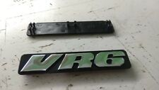 Volkswagen VW Golf Vento mk3 VR6, emblema moldura lateral badge side emblem logo