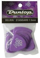 Jim Dunlop 41P1.50 Delrin Estándar Guitarra Pick - 1.50 Paquete de 12 jugadores