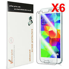 Samsung Galaxy S5 Screen Protector Ultra Clear-NEW 2014 Premium HD Version-6Pack