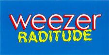 Weezer Raditude Rare promo sticker '09