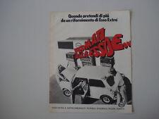 advertising Pubblicità 1973 ESSO e MINI MINOR