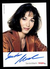 Sandra Maahn Autogrammkarte Original Signiert # BC 40287