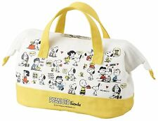 New  Cooler Lunch Bag Cold insulation lunch bag SNOOPY YELLOOW FROM JAPAN