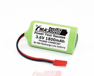 2x Ni-MH 3.6V 1800mAh Battery for Craftsman LED light EURO PRO Shark V1705 Toys