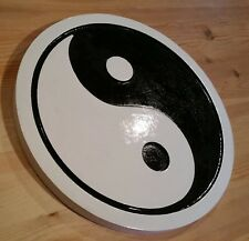 Yin Yang 3D routed carved wood sign karate martial arts karate Custom