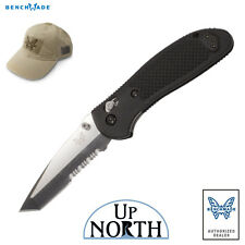 Benchmade 553S Griptilian AXIS Knife 154cm Serrated TANTO Blade FREE HAT