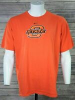 Nike Loose Fit Mens Large Oklahoma State Cowboys Football T Shirt Orange