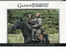 Game Of Thrones Season 3 Relationships Chase Card  DL17 Arya Stark and