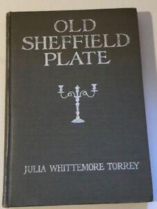 Vtg 1918 Old Sheffield Plate Julia Whittemore Torrey Catalog B&W Photos