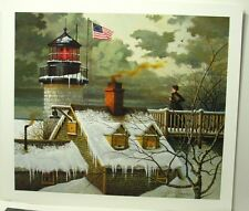 Charles Wysocki '' I Hope your Sea's are Calm ''  S/N Limited Edition Print