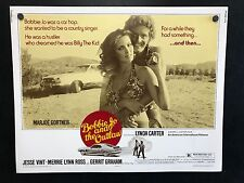 1976 BOBBY JO AND THE OUTLAW Half Sheet Movie Poster 22 x 28 MUSTANG MACH 1