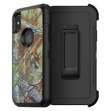 New For iPhone X Heavy Duty Case w/ Belt Clip fits Otterbox Defender