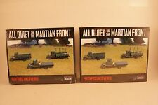 15mm WWI US BRITISH FLIVVERS UNCOVERED All Quiet Martian Front LOT Alien Dungeon