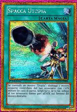 SPACCA UTOPIA Buster PGLD-IT009 Rara Segreta Oro in Italiano YUGIOH