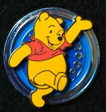 Winnie the Pooh from Disk series Disney pin