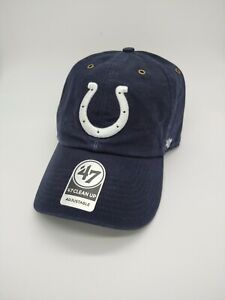 Indianapolis Colts '47 Brand Carhartt Clean up Adjustable Hat cap new NFL blue