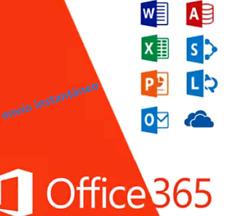 Microsoft Office 365 2019 Lifetime Account License For 5 PCs Win Mac 5 TB Cloud