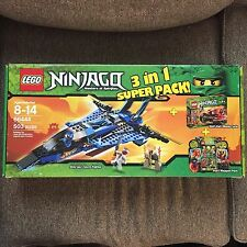 Rare Lego Ninjago 66444 3 Sets In Box Used Almost Complete Ninjas 9442 9441 9591